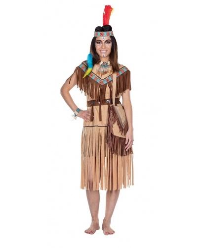 Костюм индейский: платье, пояс (Германия)