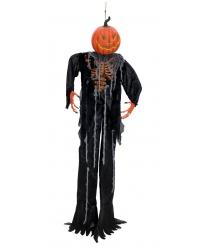 """Подвесная декорация на Хэллоуин """"Призрак тыквы"""""""