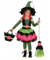 Костюм веселой ведьмочки: платье, леггинсы, нарукавники (Германия)