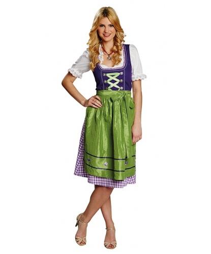 Костюм очаровательной баварки: блузка, сарафан, фартук (Германия)
