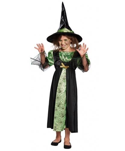 Костюм паучьей ведьмы: платье, колпак (Германия)