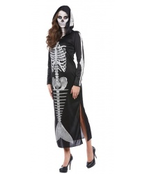 Платье с капюшоном Скелет русалки: платье с капюшоном (Германия)