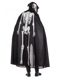 Плащ со скелетом на спине
