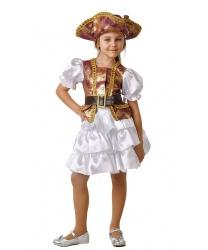 Костюм пиратки семи морей: камзол, юбка, шляпа (Украина)