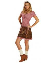 Мини-юбка на Октоберфест