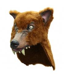 Маска коричневого волка