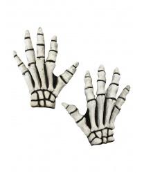Перчатки скелета с латексными костями