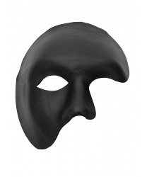 """Черная маска """"Phantom"""""""