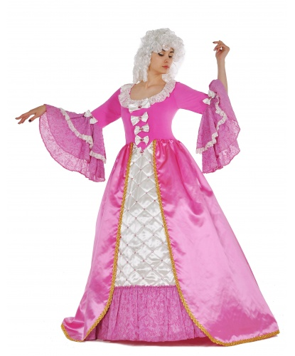 Костюм в стиле Барокко розовый: платье (Украина)
