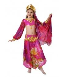 Восточный костюм малиновый
