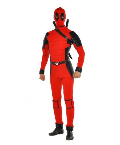 Костюм Дэдпула (Deadpool): комбинезон, маска, перевязь (Украина)