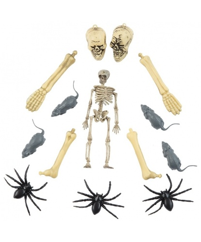 Набор маленьких фигурок на Хэллоуин