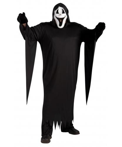 Костюм Крик: маска, накидка, перчатки (Германия)
