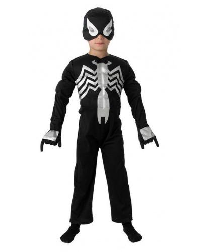 Детский костюм Венома: комбинезон, полумаска (Германия)