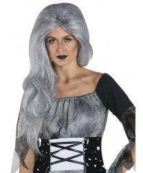 Серый парик