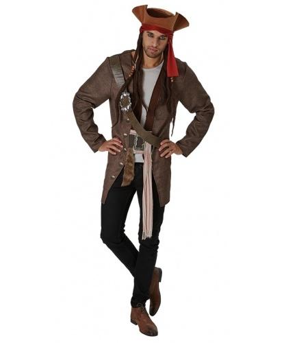Костюм пирата Джека: кофта, шляпа с дредами (Германия)
