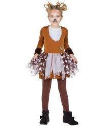 Детское платье оленёнка