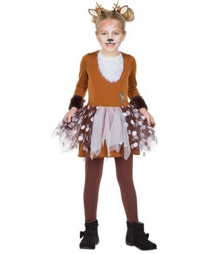 Детское платье оленёнка: платье (Германия)