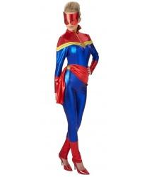 "Взрослый костюм ""Капитан Марвел"""