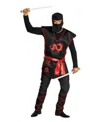 Взрослый костюм воина-ниндзя