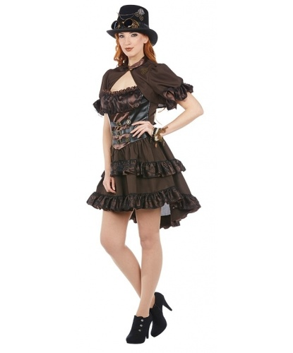 Женский костюм Steampunk: платье, болеро (Германия)