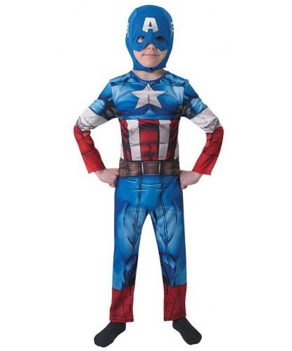 Костюм Капитана Америки (Avengers Assemble): комбинезон, маска ()