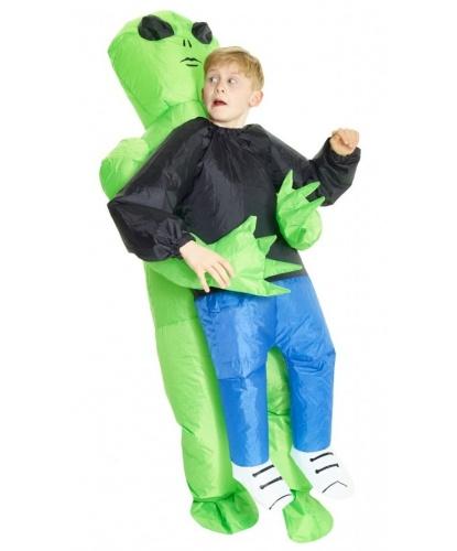 Надувной костюм Похищение пришельцем детский: комбинезон, батарейный блок (Великобритания)