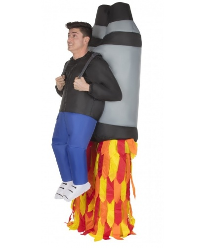 Надувной костюм Ракета: комбинезон, батарейный блок (Великобритания)