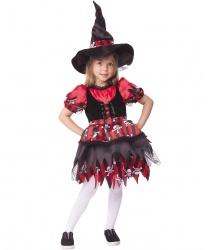 """Детский костюм """"Ведьмочка-разбойница"""""""