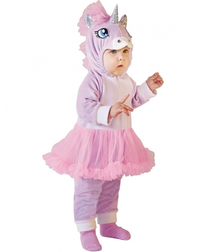 Костюм для малышей Пони-единорог: комбинезон с капюшоном (Россия)