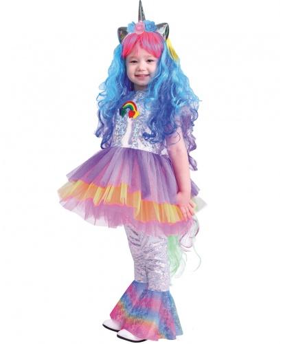 Детский костюм Пони Виви: платье, леггинсы, ободок, парик (Россия)