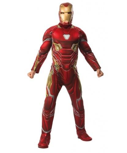 Взрослый костюм Железного Человека (Infinity War): комбинезон, маска (Германия)