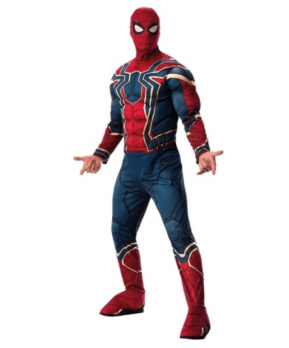 Взрослый костюм Железного Паука (Infinity war): комбинезон, маска (Германия)