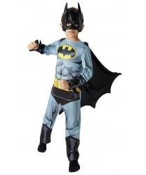 Детский костюм Бэтмена (Batman): комбинезон, маска (Германия)
