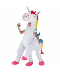 Надувной костюм Единорог: костюм, батарейный блок (Великобритания)