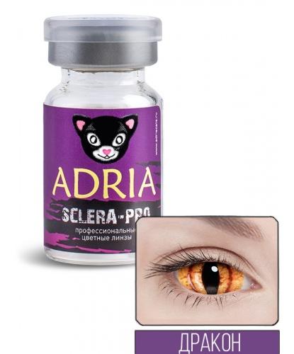 Склеральные линзы Дракон, на весь глаз, без диоптрий, срок ношения 90 дней (Великобритания)