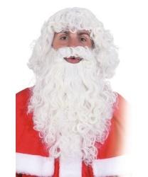 Борода и парик Дедушки Мороза