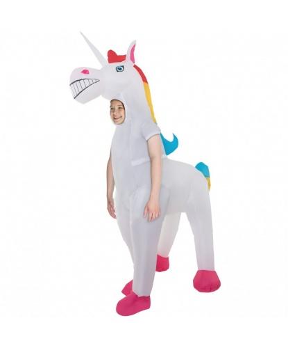 Надувной костюм Единорог детский: комбинезон, батарейный блок (Великобритания)