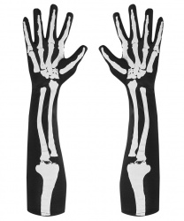 Перчатки скелета, 50 см
