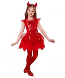Детское платье дьяволицы