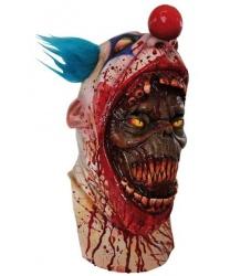 """Латексная маска """"Демон в клоуне"""""""