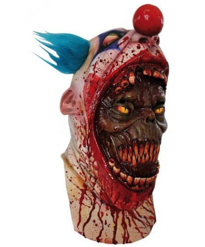 Латексная маска Демон в клоуне, латекс (Мексика)