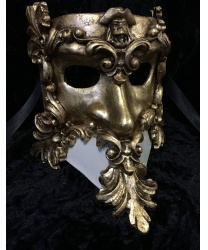 Венецианская маска в стиле Barocco, папье-маше (Италия)