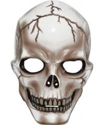 Полупрозрачная маска скелета