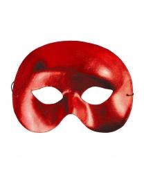 Карнавальная маска красная