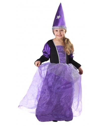 Детский костюм Колдунья: платье, колпак (Польша)