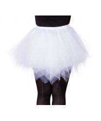 Детская белая юбка