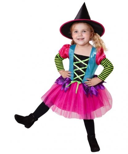 Костюм маленькой ведьмочки: платье, колпак (Италия)
