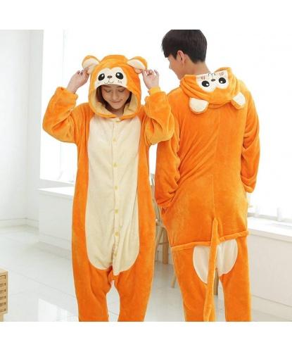Кигуруми обезьяны: комбинезон с капюшоном (Китай)