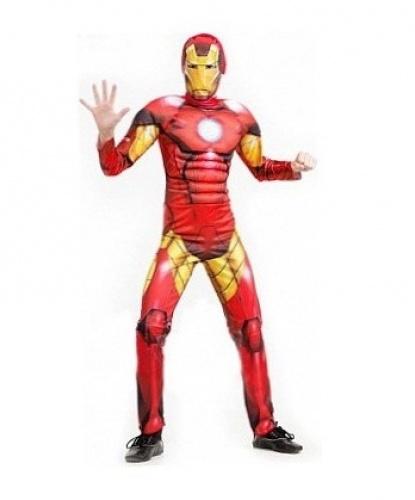 Детский костюм Железного человека: комбинезон, маска